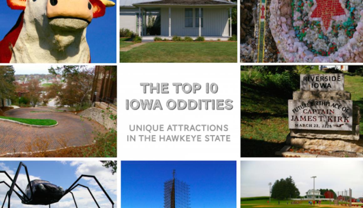 Top 10 IA Oddities Pinterest Graphic